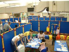Kids room dividers