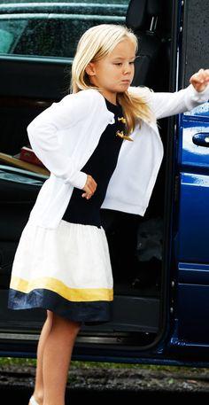 royalwatcher:  Princess Ariane, August 31, 2014