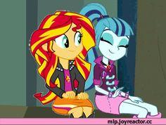 my little pony,Мой маленький пони,фэндомы,mlp gif,equestria girls,Sonata Dusk,Соната Даск,minor,Sunset Shimmer