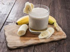 Banana Ginger Smoothie Soothe digestion, heartburn, nausea, and other stomach trouble with the fresh ginger in this natural remedy drink.