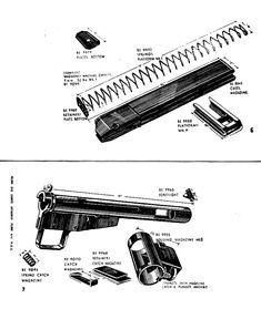 Sten Mk.2 Manual Reading Online, Hand Guns, Manual, Pistols, Revolver