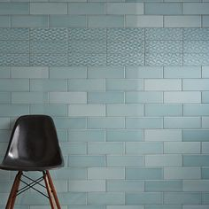 High Gloss Hexagon Tiles 173x150mm Wall Tile in Leaf (Aqua)