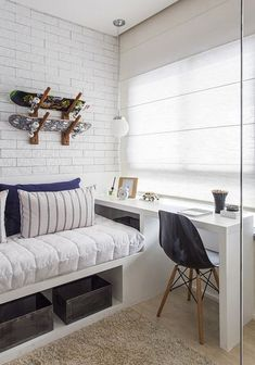 45 Best Modern Bedroom Design Ideas - Home Decorating Inspiration Luxury Bedroom Furniture, Interior Design Living Room, Bedroom Decor, Bedroom Ideas, Bedroom Boys, Bedroom Rustic, Interior Livingroom, Luxury Bedding, Modern Bedroom Design