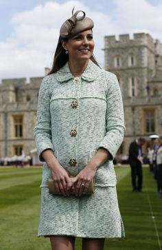 Kate Middleton takes pillbox hat on fourth outing - Photo 1 | Celebrity news in hellomagazine.com