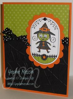 Stampin' Up Googly Ghouls