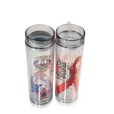 Double wall tumbler with hot/cold lid.  Decorate using your own design or any of our 100's of stock art designs