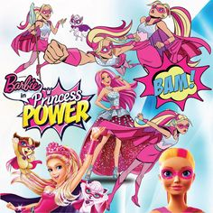 BUY2GET1FORFREE 114 Princess Power Clipart By MagicClipArt001