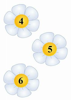 FLORI NUMERE Preschool Learning Activities, Baby Learning, Spring Activities, Preschool Classroom, Classroom Labels, Classroom Jobs, Number Crafts, Bee Nursery, Bow Wallpaper