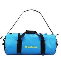 2016 Brand Design men/women 50L/60L dry bags outsport fashion multi-purpose backpacks Patchwork Orange/Blue shoulder bag TB0001