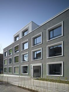 Ruhige Architektur © be baumschlager eberle