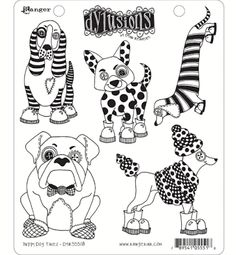 Dylan's Blog: New Dylusions Stamp Set Samples - January 2017