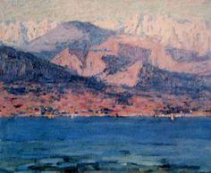 John Russell - Antibes, Alpes Maritimes 1892 John Peter, John Russell, Impressionist Artists, Antibes, Art Market, Impressionism, Auction, Australia, Paintings
