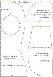 Image result for how to make cloth doll body