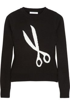 Made me think of you @Eliana G  cute sweater!  making the cut.