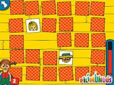 Pippi Longstocking's Memo - a memory game with 3 player modes (player vs. Things That Go Together, Fun Apps, 6 Year Old Boy, Pippi Longstocking, Fun Games For Kids, Memory Games, Best Iphone, Best Apps, Arcade Games
