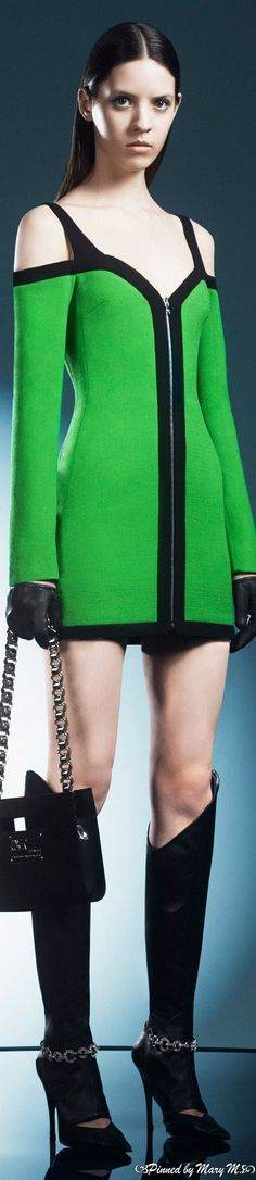 David Koma, Couture, Beautiful Dresses, Fall, Capsule Outfits, Green, Sweaters, How To Wear, Envy