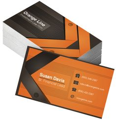 Investment Law Firm business card by OuterBrand, LLC