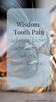 how to stop pain from wisdom teeth removal