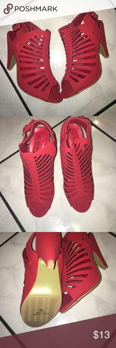 Red heels Red comfty -new-3 inch heels Shoes Heels