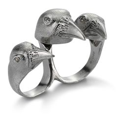@Raven Rohrig-Thrift  or this if you wann be a bad ass  BJØRG Triple Raven Ring