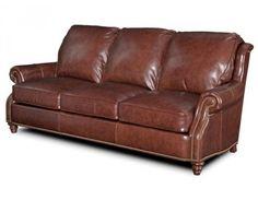 Bradington Young Dillon Leather Sofa. Custom Made in the USA! : Leather Furniture Expo