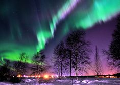 Northern Lights over Luleå [Explored - thank you!] (by catarina_555 ♪♫)