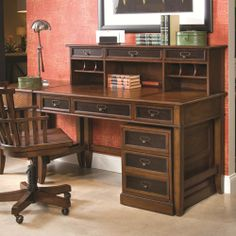 Shop For The Hammary Mercantile Desk Hutch With Rolling File At Belfort Furniture