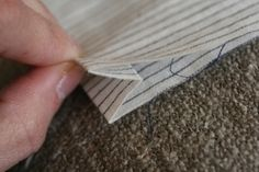 マチの作り方Bタイプの作り方 手順|9|ソーイング|編み物・手芸・ソーイング|ハンドメイド、手作り作品の作り方ならアトリエ Handmade, Jeans, Hand Made, Denim, Handarbeit, Denim Pants, Denim Jeans
