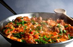 Greek Chicken Stew With Cauliflower and Olives Recipe - NYT Cooking