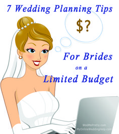 7 Wedding Planning Tips for Brides on a Limited Budget at www.wedmepretty.com http://www.wedmepretty.com/7-wedding-planning-tips-for-brides-on-a-limited-budget/