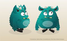 monster character design Monster Characters, Fictional Characters, Mein Portfolio, Web Design, Grafik Design, Character Design, Illustration, Art, Children's Books