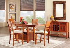 Shop for a Bryan Place  5 Pc Counter Height Dining Room at Rooms To Go. Find Dining Room Sets that will look great in your home and complement the rest of your furniture.