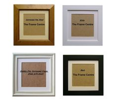 £8 (7x7 frame, 5x5 photo) Perspex Square Picture Frames & Mount Shabby Cream Black White 4x4 4x6 5x5 6x6 in Home, Furniture & DIY, Home Decor, Photo & Picture Frames | eBay