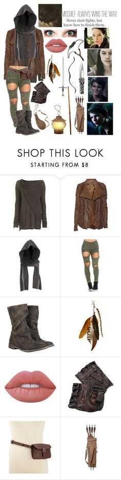 """""""OUAT Peter Pan // Being a Lost Girl in Neverland"""" by somenormalpanda ❤ liked on Polyvore featuring Etiquette, DRKSHDW, Rick Owens, H&M, AllSaints, Gilded Lily Goods, Lime Crime, Style & Co., S.W.O.R.D. and Once Upon a Time"""