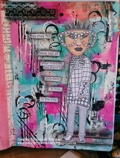 Sandra Botham - Red Kitty B Creates: Dylusions stamps
