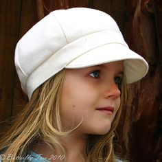 Newsboy Hat Sewing Pattern Combo Reversible by ButterflyTree