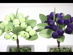 Blue Berry 1- paper quilling - YouTube