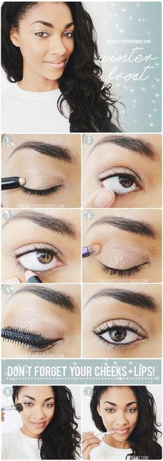 Simple makeup for school