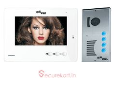 """Real time is a leading security system manufacturer company in India.Securekart India's best online shopping site for buy security products we are provides  Alba Urmet M11-4E7CM Video Door Phone System Kit online at low price wide range in diffrent  varients. If you want video door phone kit's in 7"""" video door phone monitor please visit our website for more details."""