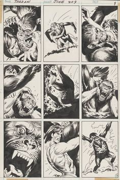 Joe Kubert's Tarzan of the Apes: Artist's Edition preview page 1