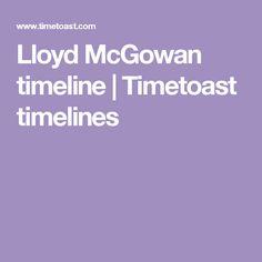 Lloyd McGowan timeline | Timetoast timelines