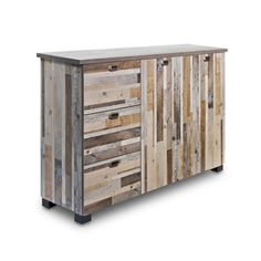 These driftwood furniture pieces are so cool!   Find it at the Foundary - Driftwood Large Dresser