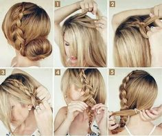 Perfect hair do that can be dressed up or down