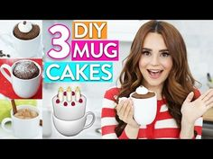 Today I made three quick and easy DIY Microwave Mug Cakes! Let me know down below what other types of videos you'd like to see. *Order the Nerdy Nummies Cook...