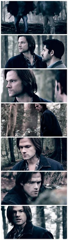 [gifset] 8x19 Taxi Driver||||Sam Winchester favorite sceneries...Purgatory! 1/5 ||| also some of the coolest special effects in how they arrived