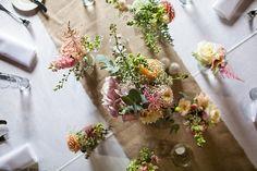 Fun Filled Peachy Country Barn DIY Wedding Flowers Pinks http://binkynixon.com/