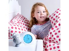 "Zazu Sam The Sleep Trainer Clock - Sometimes the mornings just start a little too early! The kids bounce in to your room before the sun's up and you wish ""Just a few more minutes of sleep."" With this whimsical alarm clock and nightlight, it's possible! Adorable Sam the Sheep teaches children when it's time to get up and when to stay in bed and makes time easy for them to understand. from BulbHead"