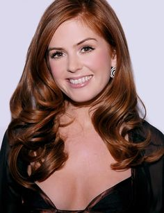 Isla Fisher was born on February in Muscat, the capital of the Middle Eastern nation of Oman. When Isla Fisher was a young c. Best Brunette Hair Color, Hair Color Auburn, Auburn Hair, New Hair Colors, Isla Fisher, Blond, Head Band, Hair Color Balayage, Great Hair