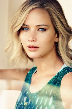 Jennifer Lawrence photographed by Mikael Jansson for VOGUE US (December 2015)