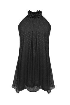 ♥ Black Ciffon Halterneck Party Dress - ♥ Buy The Latest Trends and Gorgeous Must-Have Accessories at Steal Her Style ♥£25